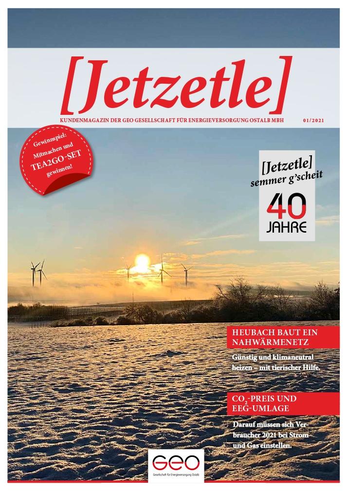 Jetzetle Ausgabe vom 01.2021 – GEO Energie Ostalb