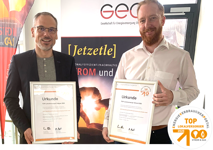 Aktuelles: Top Lokalversorger – GEO Energie Ostalb