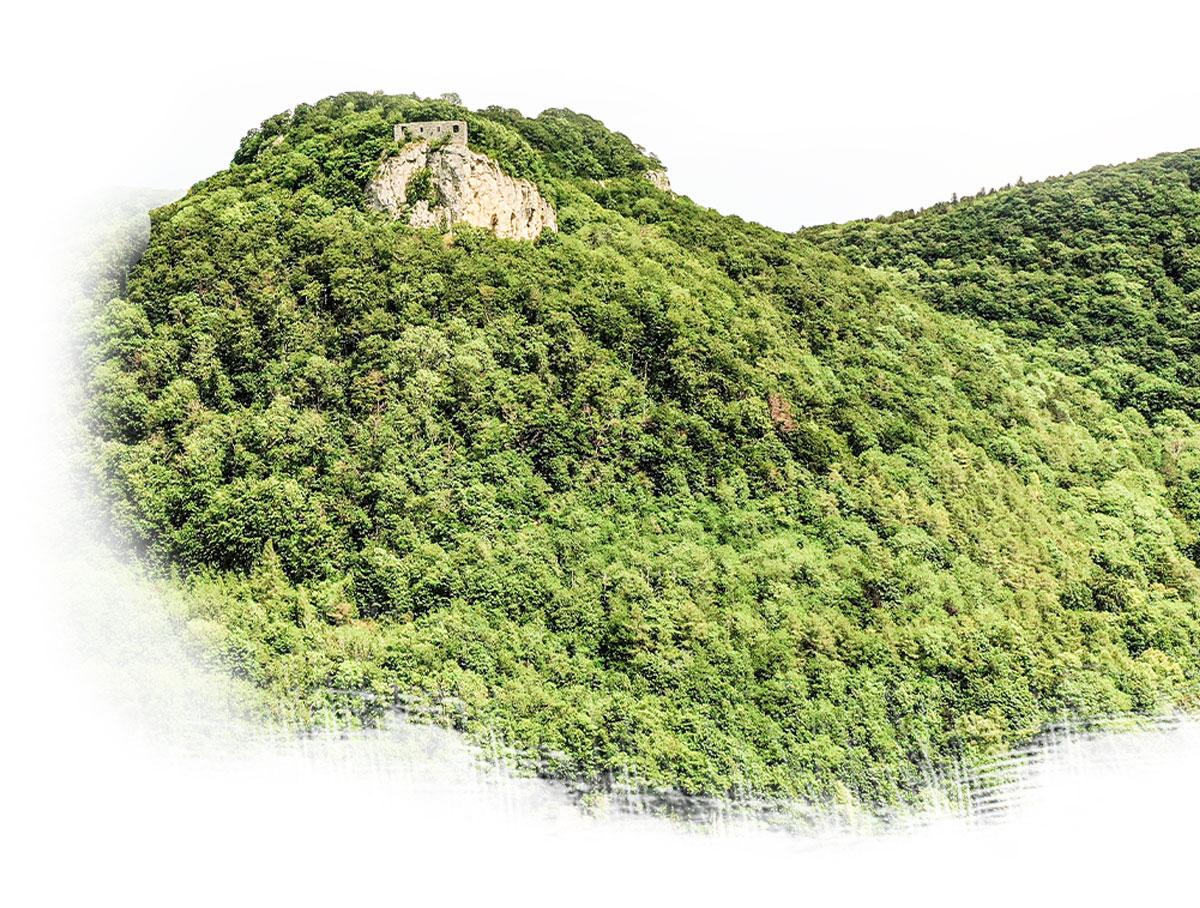 Vogelperspektive Essingen Gebirge – GEO Energie Ostalb