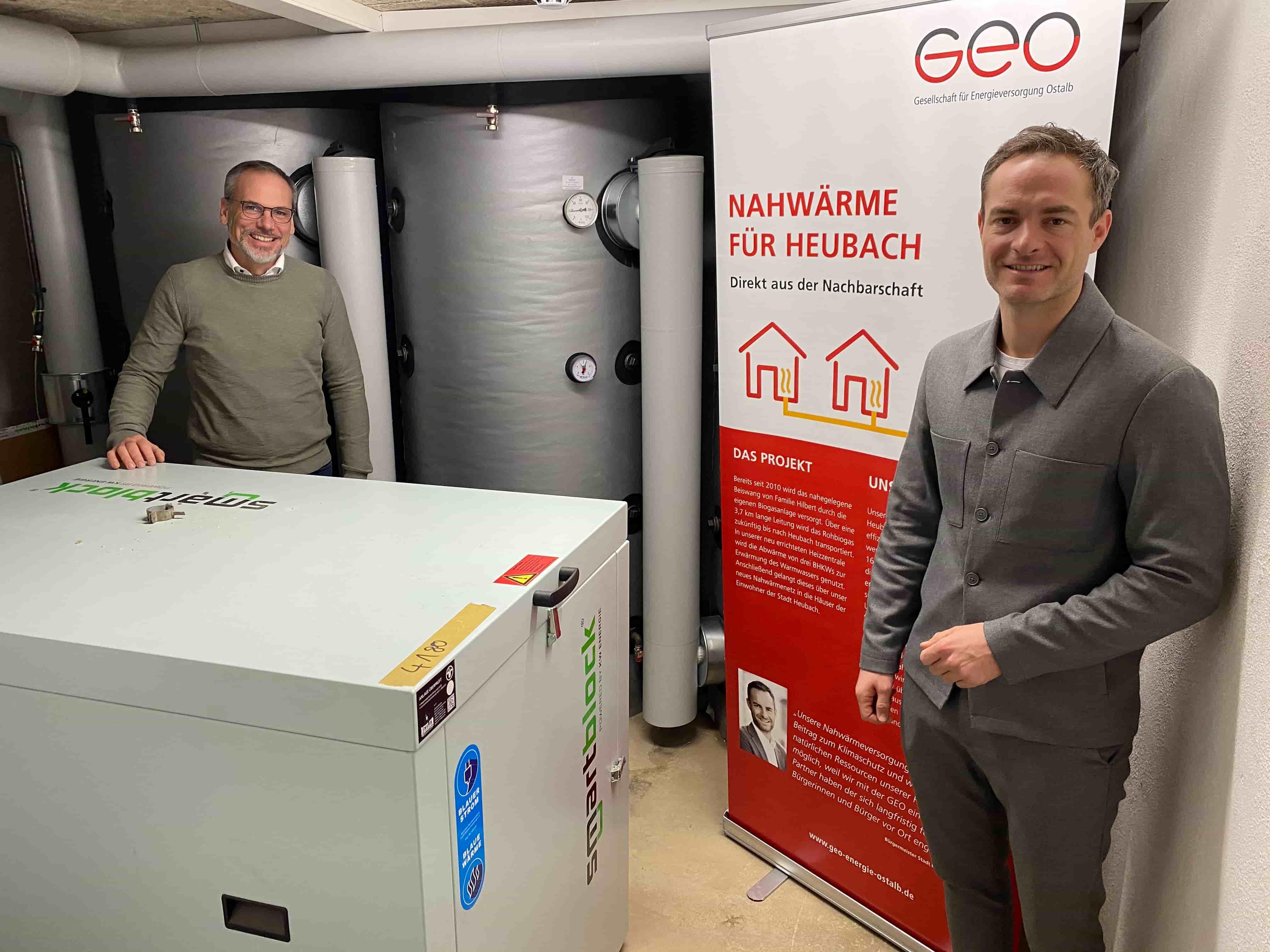 Nahwärme Heubach in Betrieb – GEO Energie Ostalb